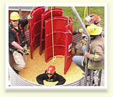 Safety Pic Corn Bin